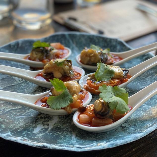 Akoya Oysters Perth Restaurant
