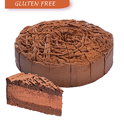 Chocolate Murray Mousse Mud Cake - 1.75kg (16 Slices)