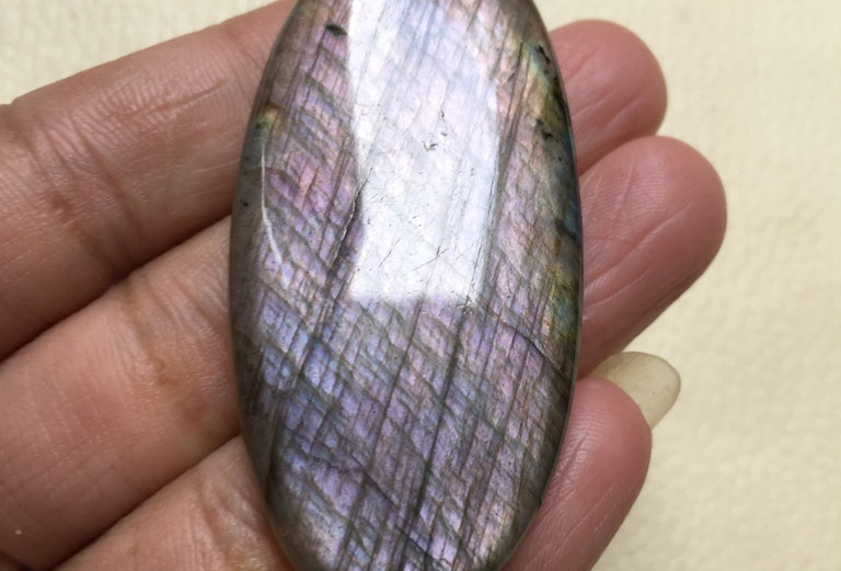 Labradorite Cabochon 1 Piece Size: 57 MM Approx