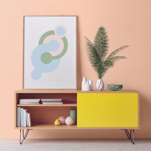 Cabinet/consolle soggiorno