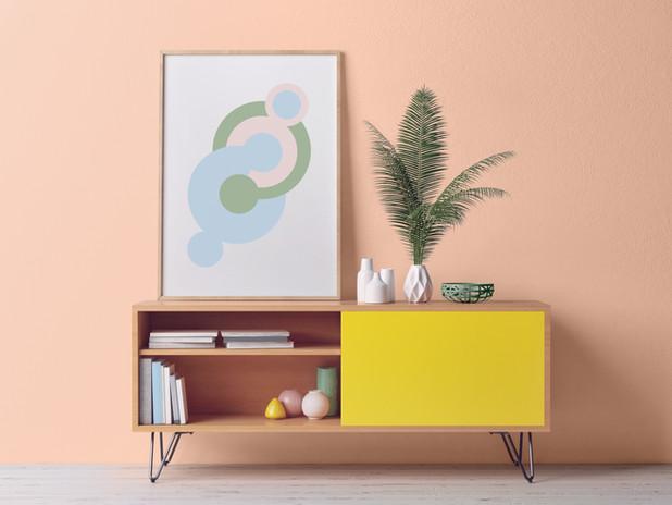 Designed Cabinet