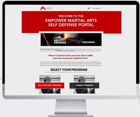 Self Defense Traning Portal