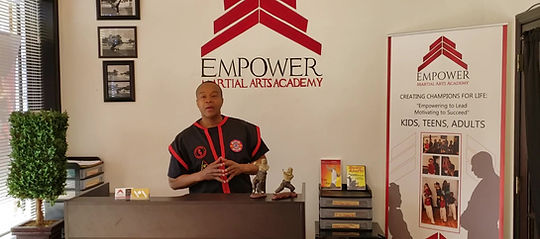 Master John at Martial Arts School, Stafford, VA