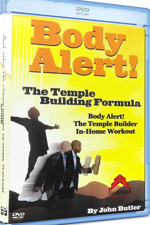 Body Alert! The Temple Building Formula In-Home Workout
