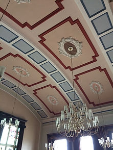 Leigh Town Hall interior