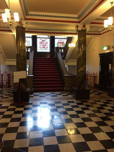 Leigh Town Hall entrance