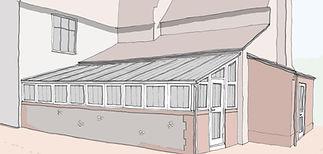 Farmhouse glasshouse