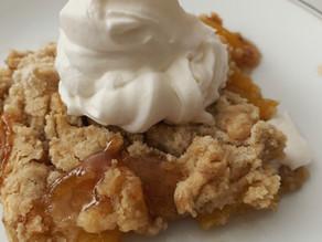 Bake-Along #27: Brown Sugar Peach Dump Cake