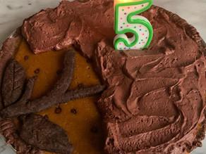 Bake-Along #32: Chocolate Pumpkin Pie