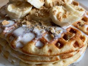 Bake-Along #49: Banana Cream Waffles
