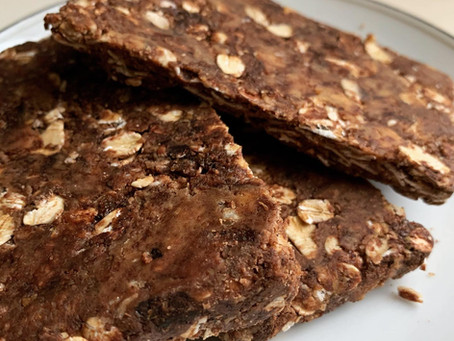 Bake-Along #43: Frozen Choco PB Oat Breakfast Bars