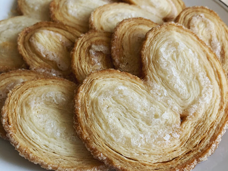 Bake-Along #52: Palmiers (puff pastry demo!)