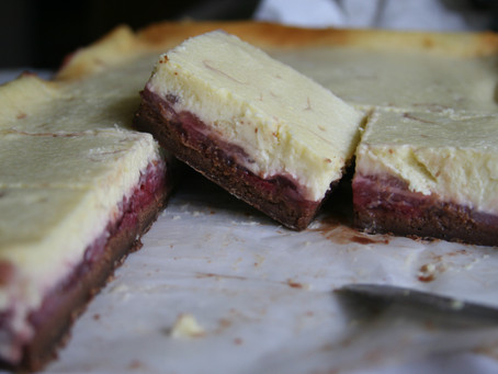 Bake-Along #28: Strawberry Cheesecake Brownies