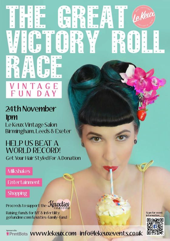 The Great Victory Roll Race