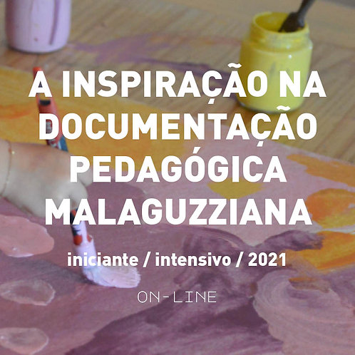 A inspiração na documentação pedagógica Malaguzziana - iniciante  [jan]
