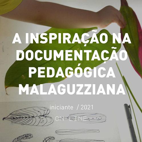 A inspiração na documentaçao pedagógica Malaguzziana - iniciante [maio]