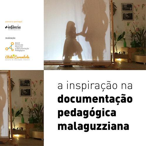 A inspiração na documentação pedagógica Malaguzziana - iniciante [sábados]