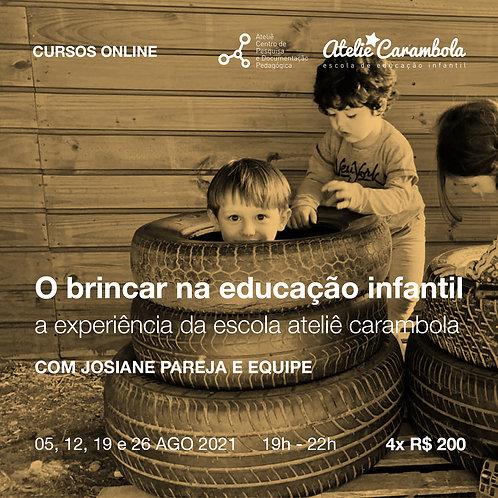 O brincar na Educação Infantil