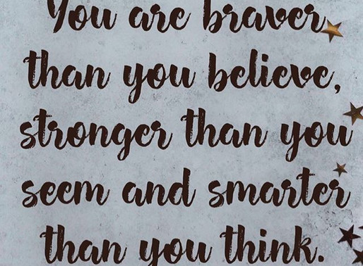 You are stronger than you seem.