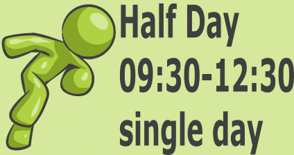 Half Day - single day