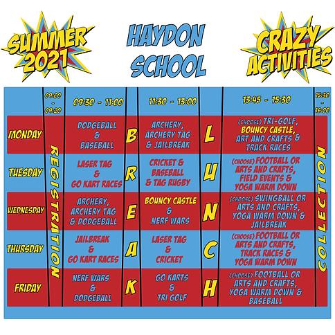 haydon timetable.png