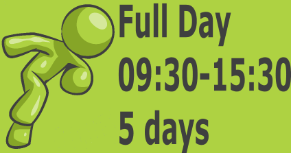 Full Day - 5 days