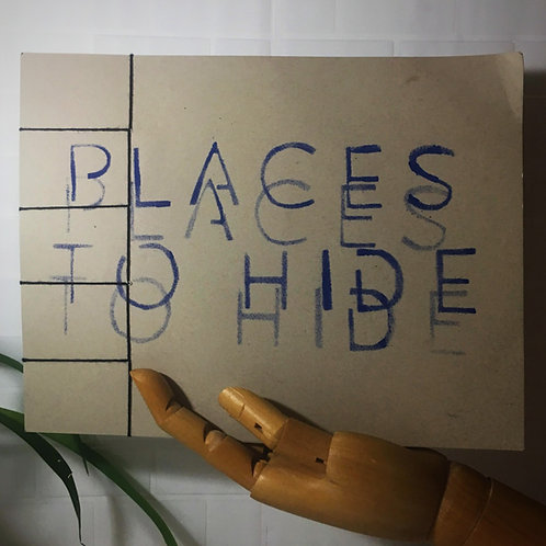 places to hide - ian martin