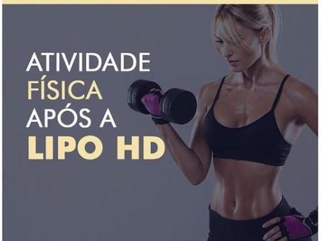 Atividade física após Lipo HD