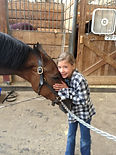 Horses Give Kids Self Esteem Confidence Attension