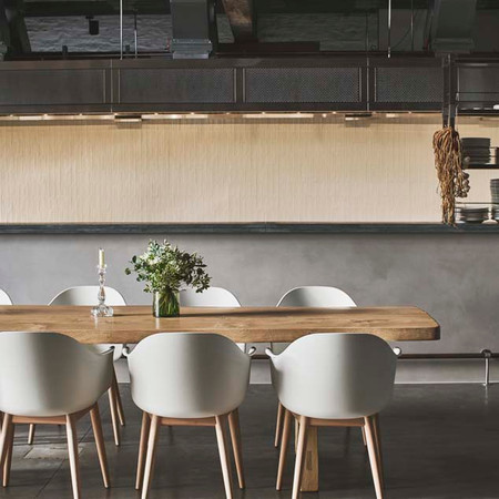 Seven and a half metre Charvet open kitchen allows for an authentic, heritage-rich dining experience.