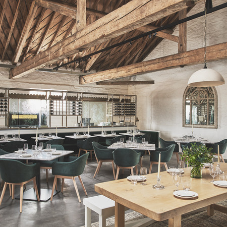 The Ox Barn is a 56-seater destination restaurant.