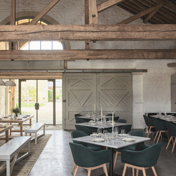 The nineteenth century former oxen house is the newest addition to the family of meticulously restored farm buildings.