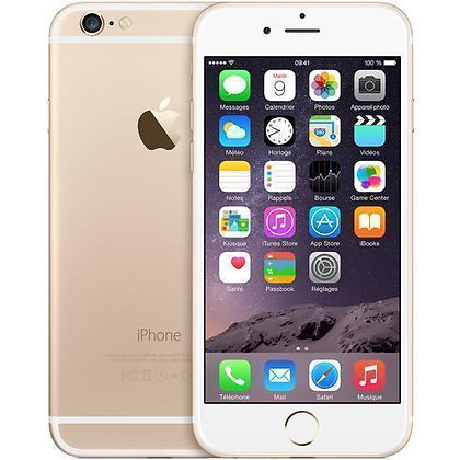 "• Iphone 6 ""16 go"" gold"