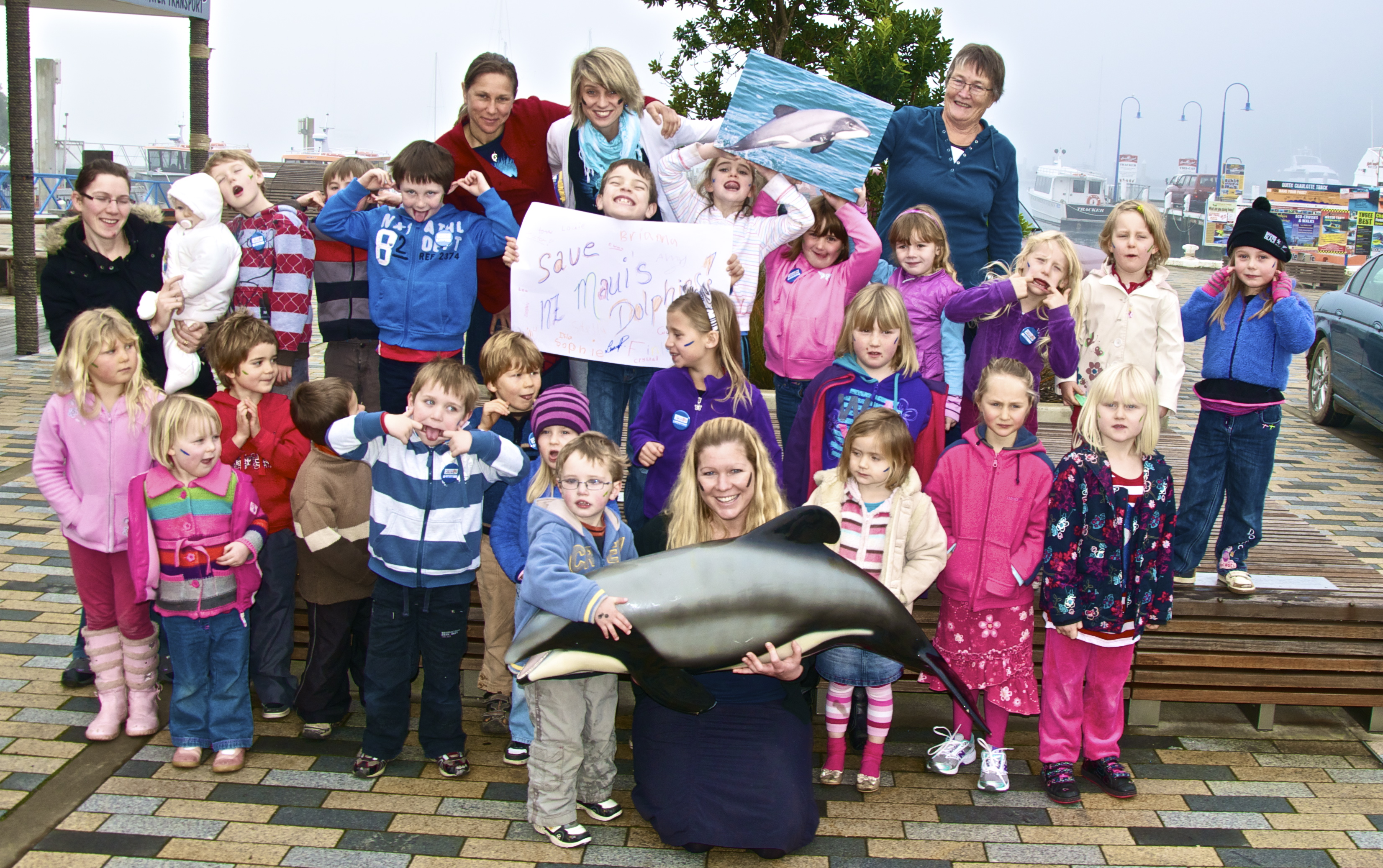Hector's Dolphin Day 2012