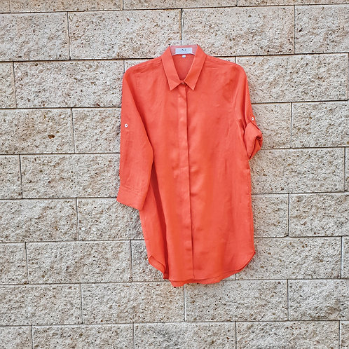 LEINENBLUSE Orange