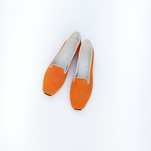 MANIA Slipper Orange/Beige
