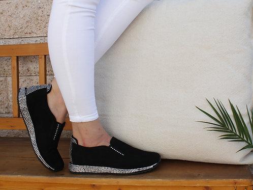 MANIA Sneaker Schwarz Swarovski