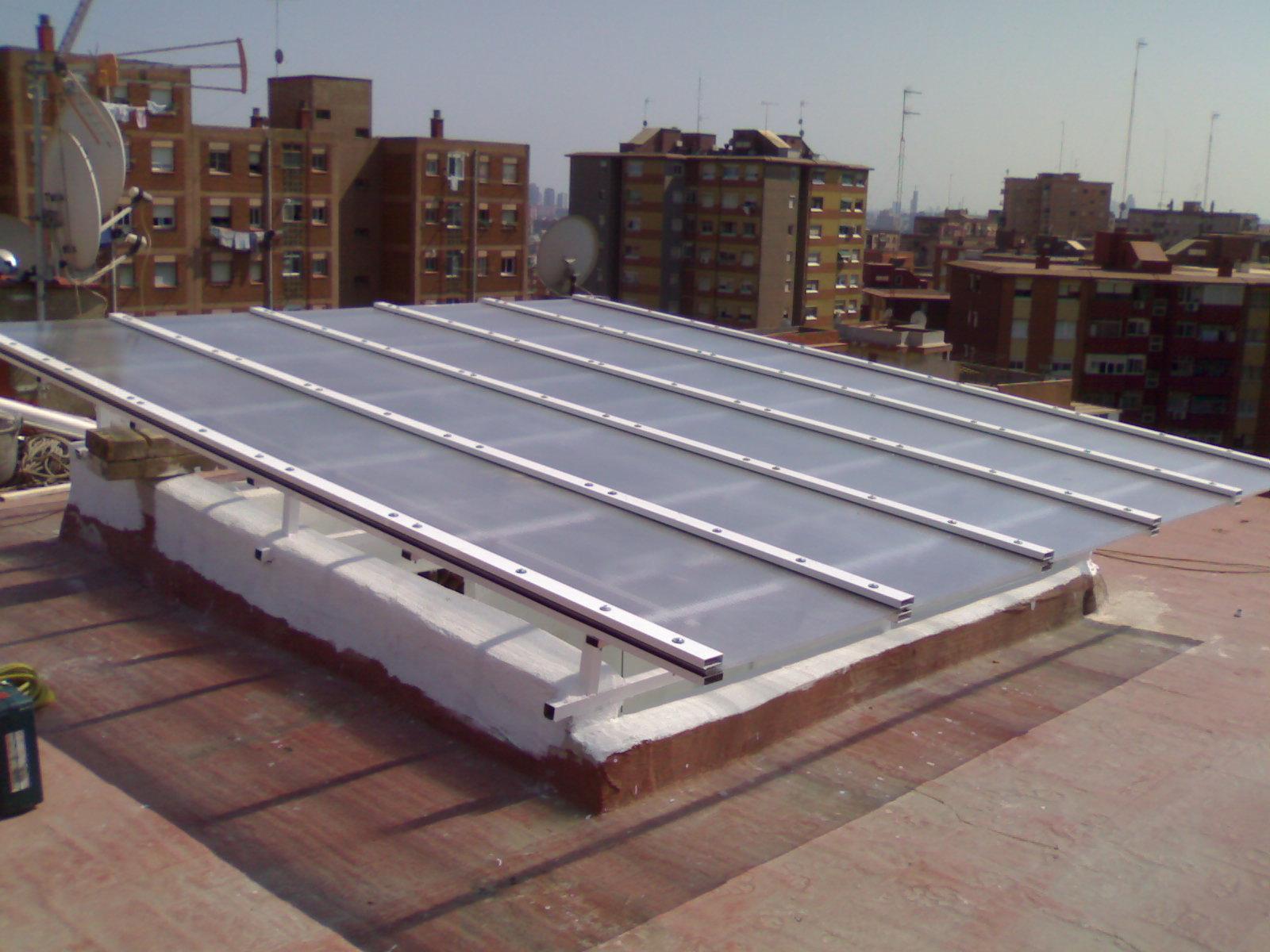 Claraboyas y techos