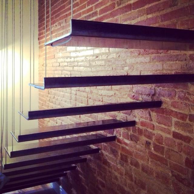 escalera cable