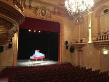 clavecin sur scène