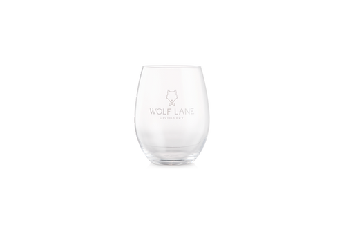 Wolf Lane Etched Glass