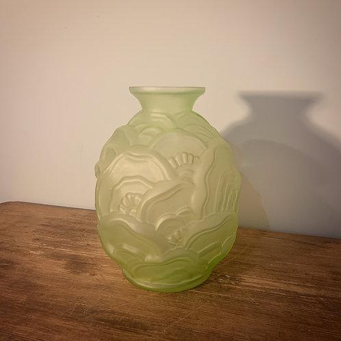 Vase Art Déco signé Ch. Catteau