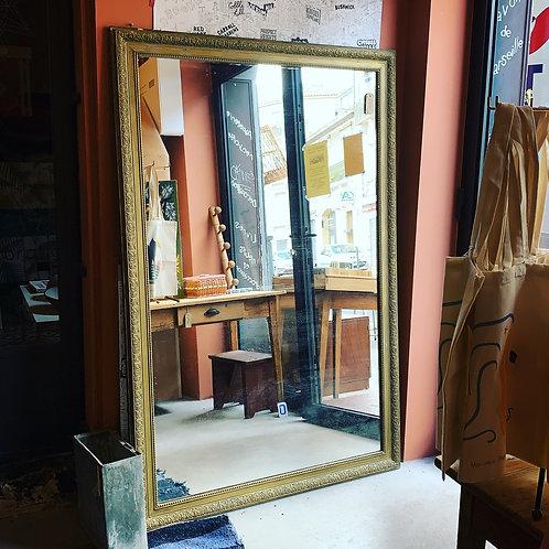 Grand miroir de bistrot