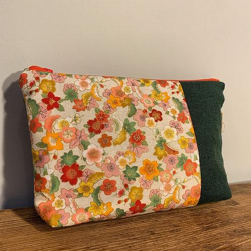 Pochette en tissu fabriquée en France