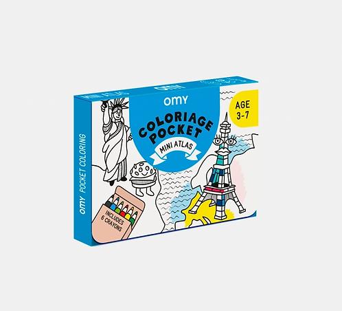 Coloriage pocket / mini atlas