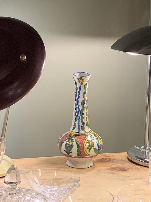 Vase à long col - Moyen-Orient - vers 1900 - h:27cm