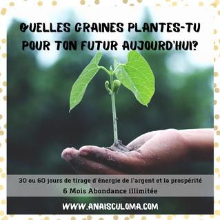 Quelles graines plantes-tu pour ton futur ?