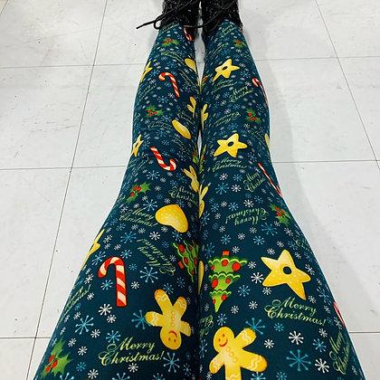 Merry Christmas Queen Leggings