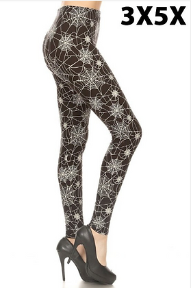 Spider Web Queen Leggings