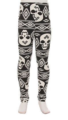 OG Skulls Kids Leggings